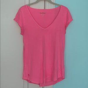Lilly Pulitzer Pink Neon Tee